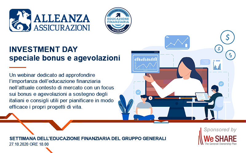 Investment Day: speciale bonus e agevolazioni