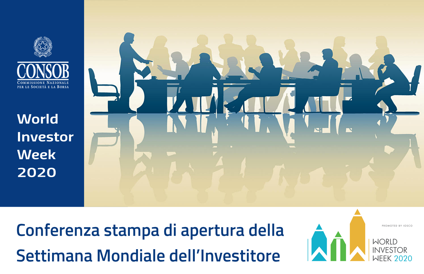 Conferenza stampa di apertura della World Investor Week 2020